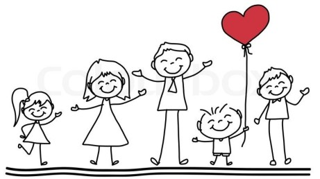 9245728-hand-drawing-cartoon-happy-family